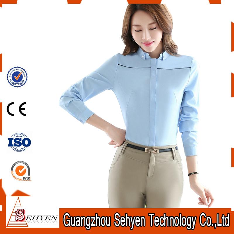 Blusas novas para mulheres Camisas de trabalho formal para escritório  Tamanho Plus –Blusas novas para mulheres Camisas de trabalho formal para  escritório ... 6c1208c6d9def