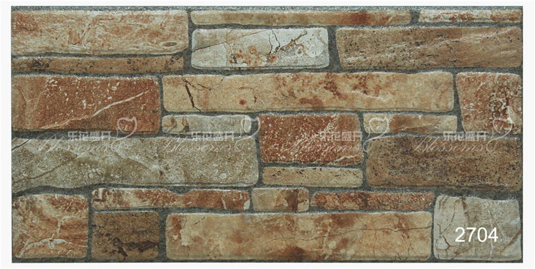 Foto de parede de pedra r stica de cer mica de porcelana tile para fora 200x400mm em pt made - Ceramica rustica para suelos ...
