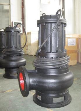 Qw 유형은 잠수할 수 있는 하수 오물 펌프를 비 막는다