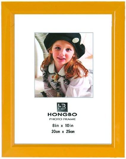 Рамка для фотографий из ПВХ (L010-оранжевый)