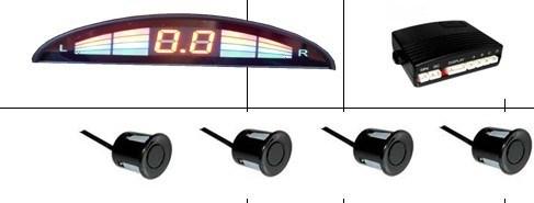 Radar de marcha-LED (LC-618)