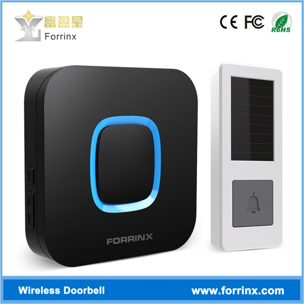 Forrinx B17 52 Ringtones 300mの無線範囲IP55はドアベルの無線ドアのチャイムを防水する