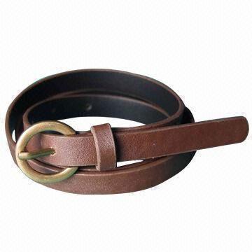 Retro& Simple PU Belt with Metal Buckle
