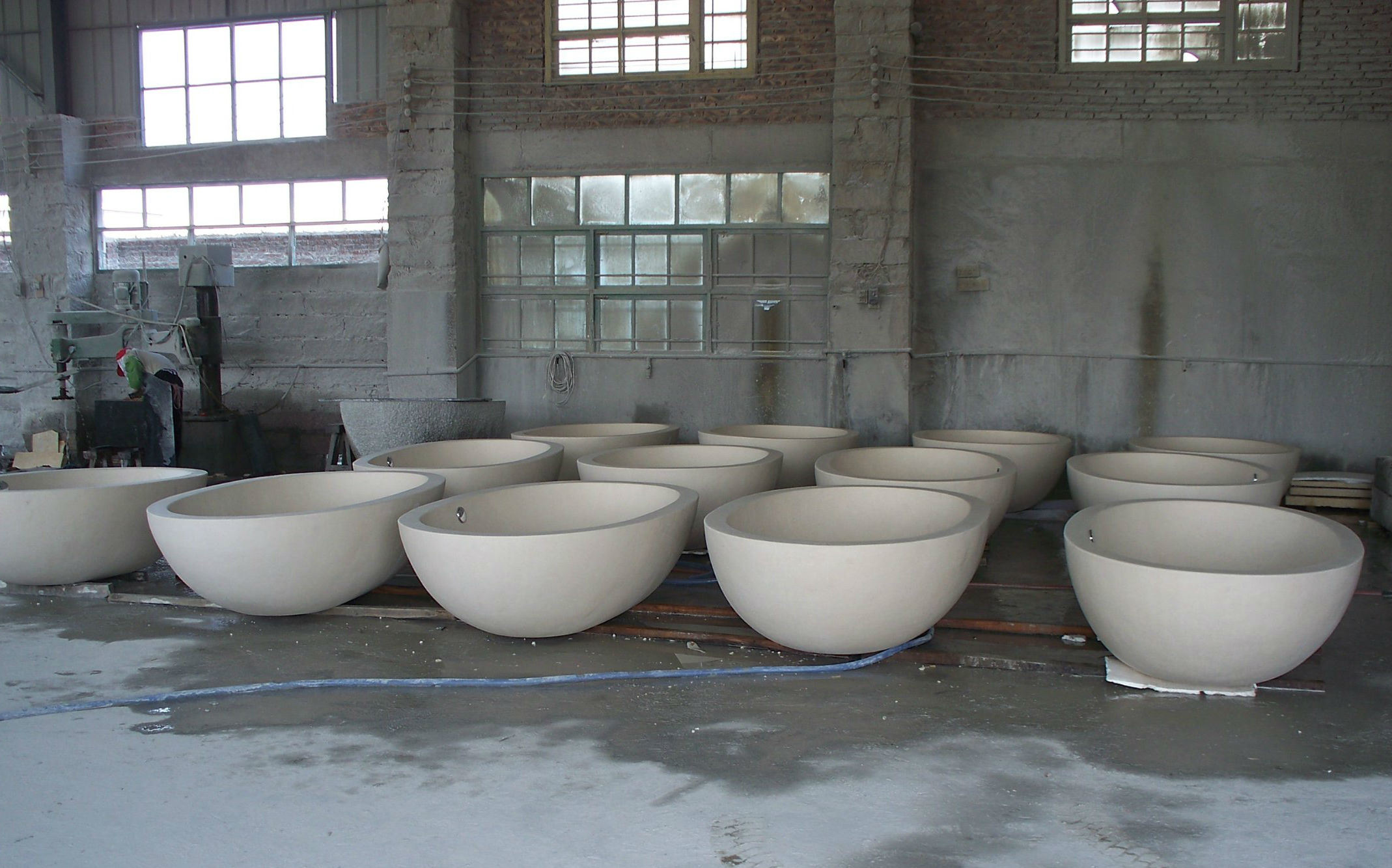 Vasca Da Bagno Pietra : Vasca da bagno di pietra di marmo naturale del granito del basamento