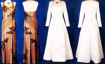 Hochzeits-Kleid-Reihe 5