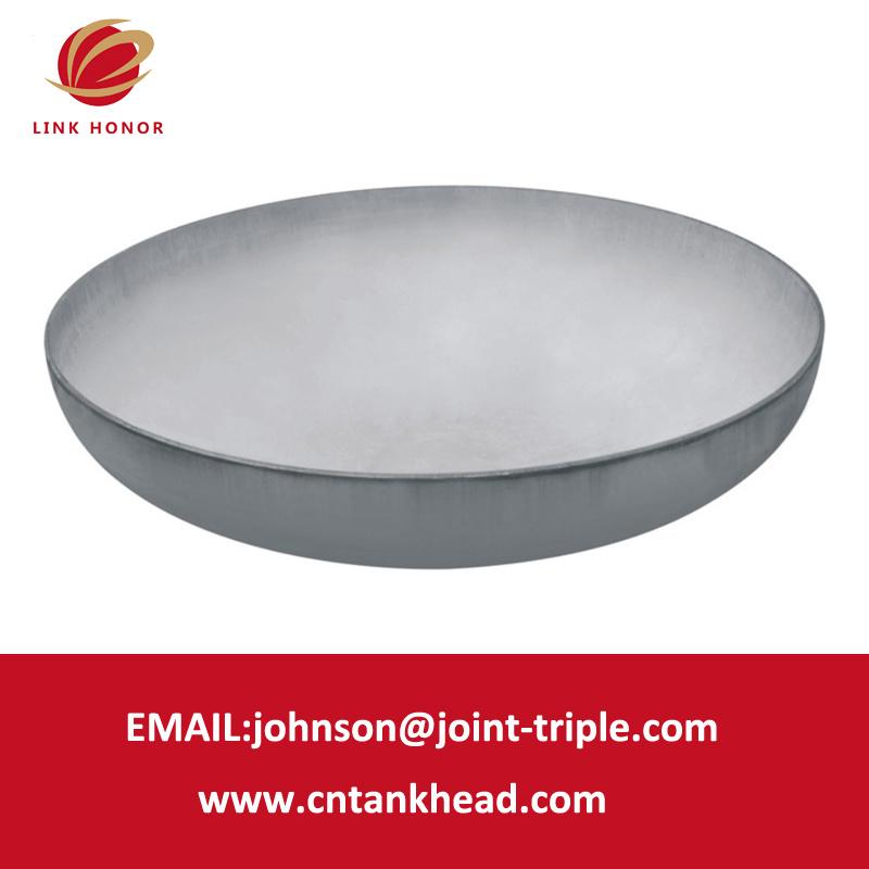 testa ellittica del serbatoio del contenitore a pressione della testa ASME del piatto dell'acciaio inossidabile 01-01-Lager