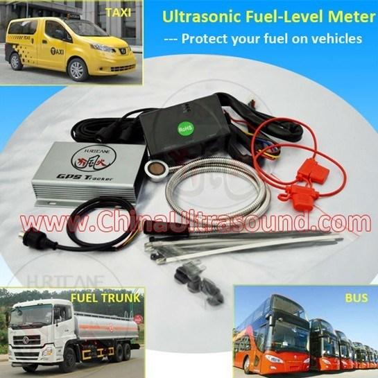 Medidor de nível de diesel de ultra-sons com GPS / GPRS Sistemas de Rastreamento
