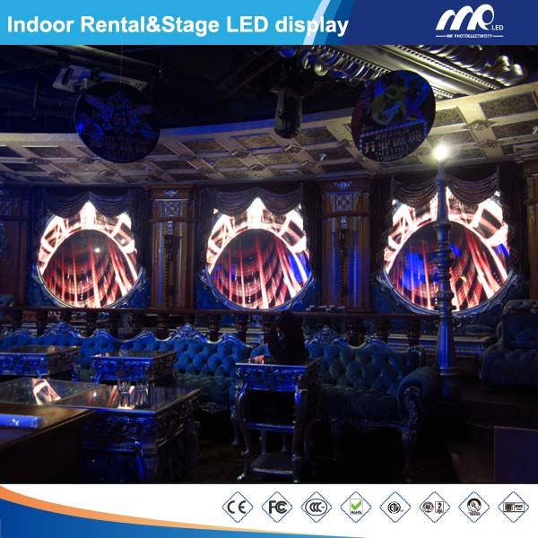 video dell'interno dello schermo di visualizzazione del LED della fase di 7.62mm