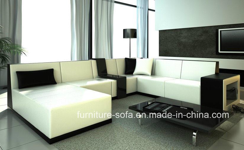Vistoso Muebles Otomanas De Cuero Blanco Modelo - Muebles Para Ideas ...