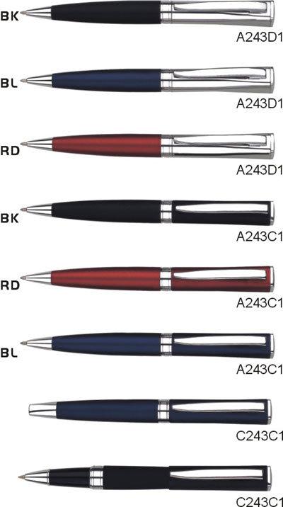 真鍮の球ペン(A243B1)