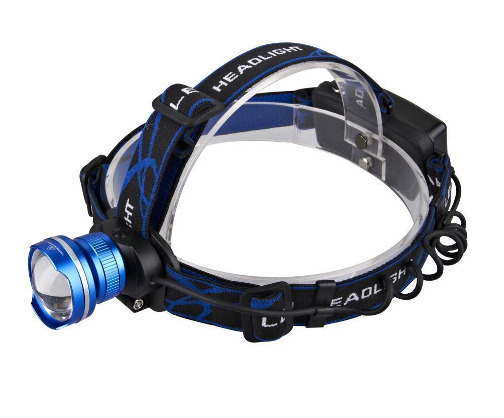 高い発電のズームレンズ機能クリー族のXm-L再充電可能なアルミニウムT6 LEDのヘッドライト
