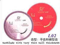 Sägeblatt T.-C.T. für Ausschnitt-Nichteisenmetalle - LXI