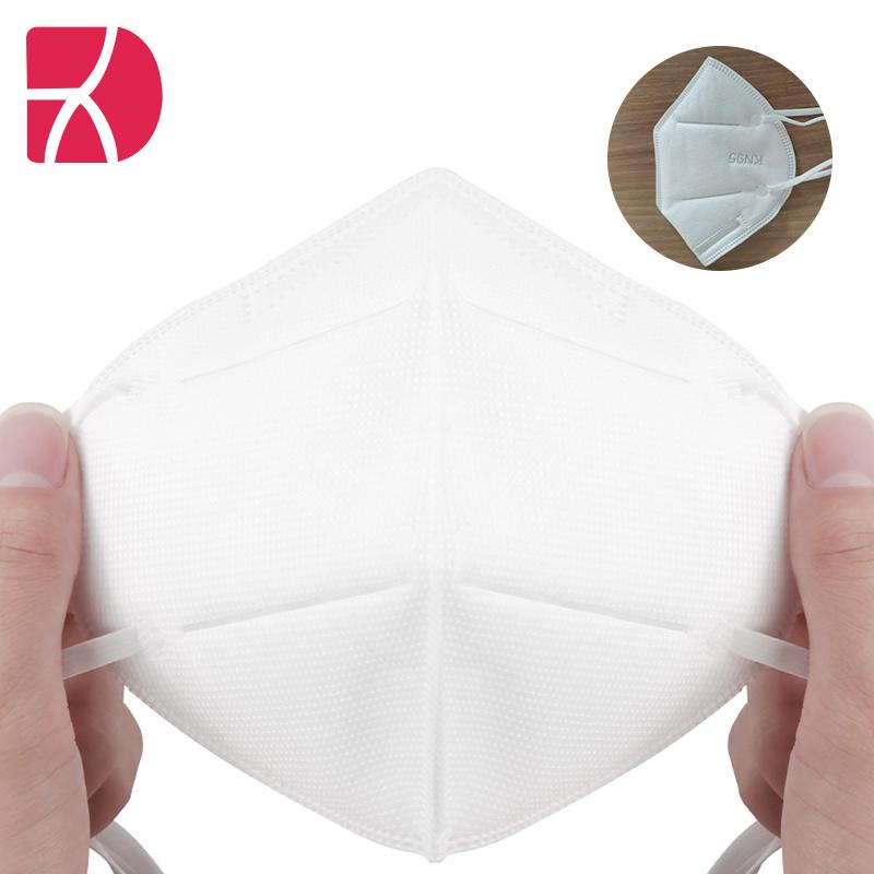 KN95 Gezichtsmasker Disposable stof beschermend Anti-Virus Volwassene Non Woven