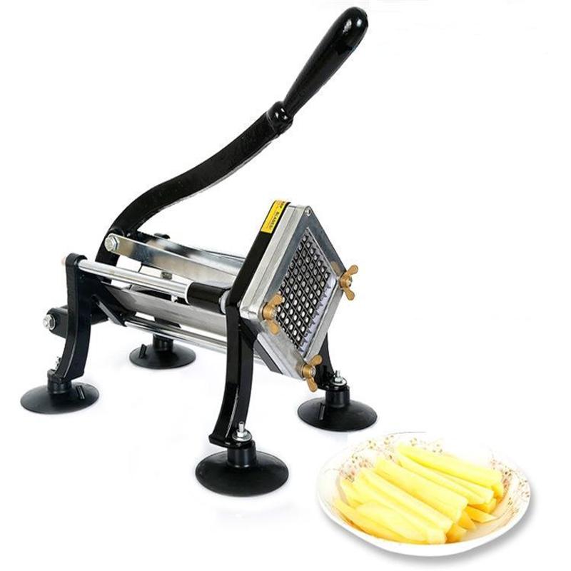 Aço inoxidável manual do Cortador de batatas fritas com BR238