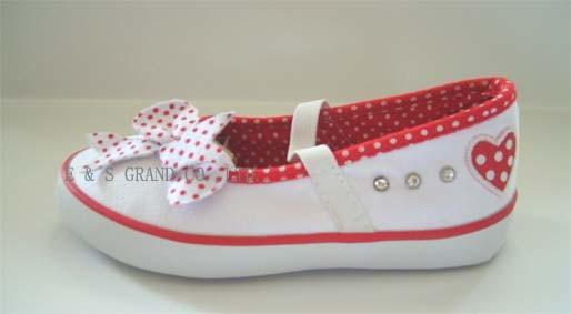 Toile chaussures vulcanisées (ES-V801)
