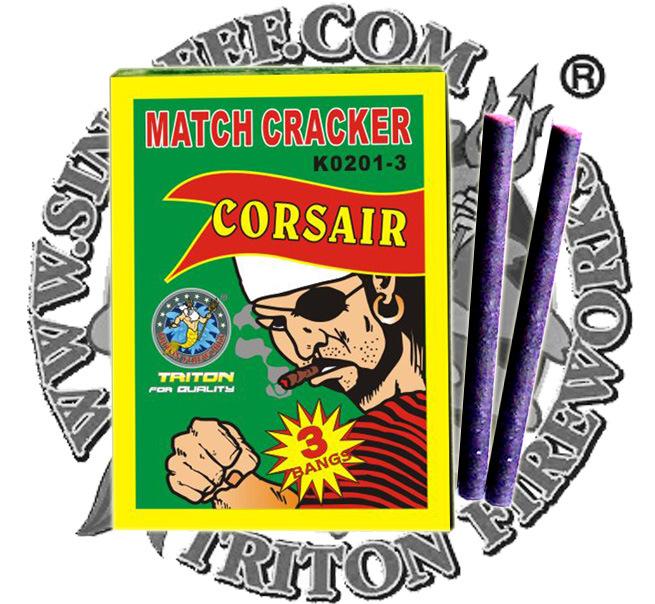 N° 1 coincide con el cracker 3 Golpes Fireworks
