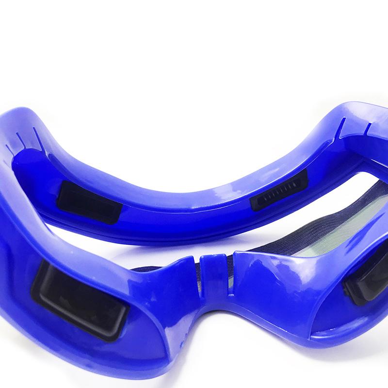 De Blue Safety Goggle met winddicht en stofdicht