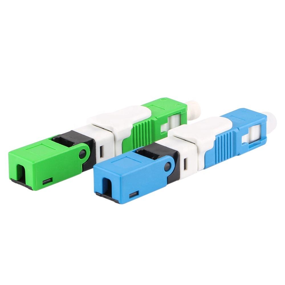 Ces250d Sc Fibra Óptica APC ficha rápida Conector Rápido de fibra óptica econômica