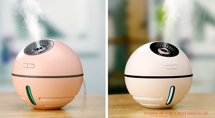 2019 Space Ball Aroma de névoa fria quente humidificador Umidificador de ar de viagem para casa/ Carro