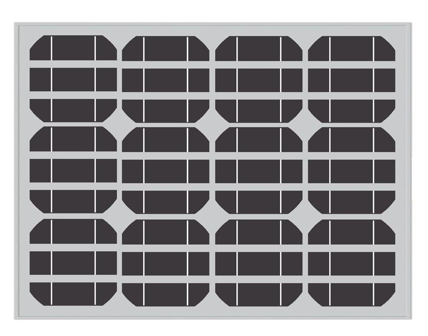 50wp Photovolatic Mono Painel solares fotovoltaicos (WHS-979)