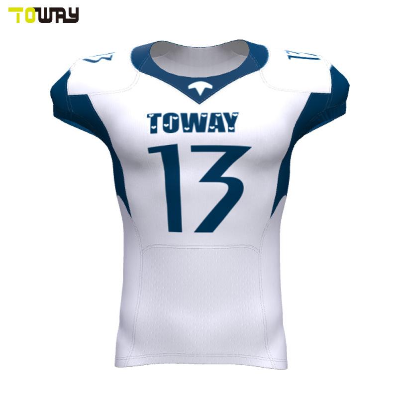 Sports Wear Striped Bulk Uitrusting Twil Football Jersey