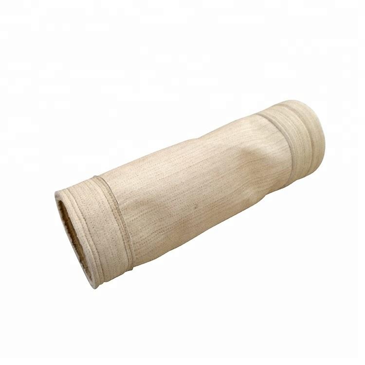 El mejor venta Nomex bolsa filtrante para una temperatura mayor Filtración de Polvo