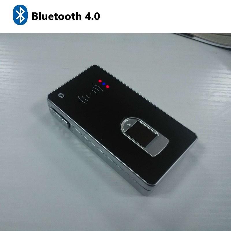 Bluetoothの指紋およびカード読取り装置Fr3000