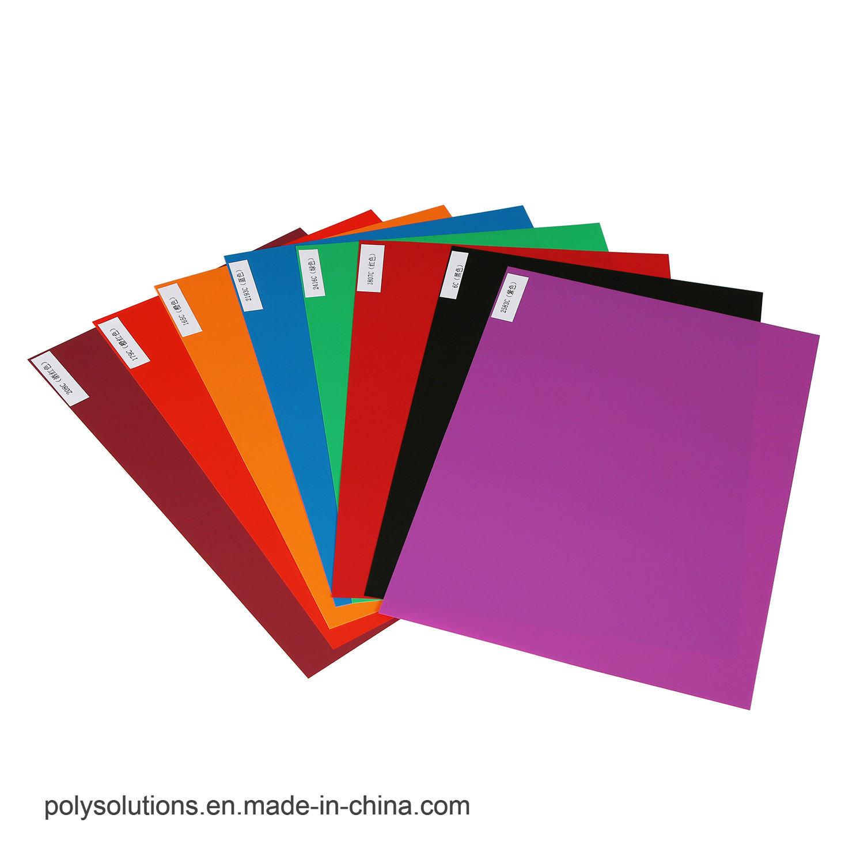 플라스틱 카드를 위한 PVC 색깔 코어 장