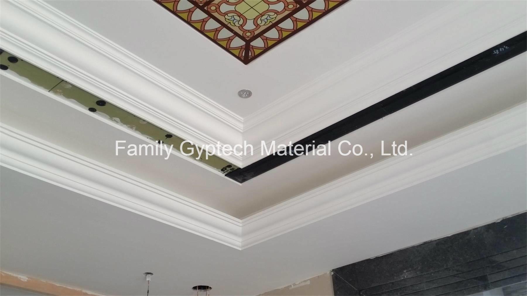 Le gypse / corniche de plâtre pour la décoration de plafond photo ...