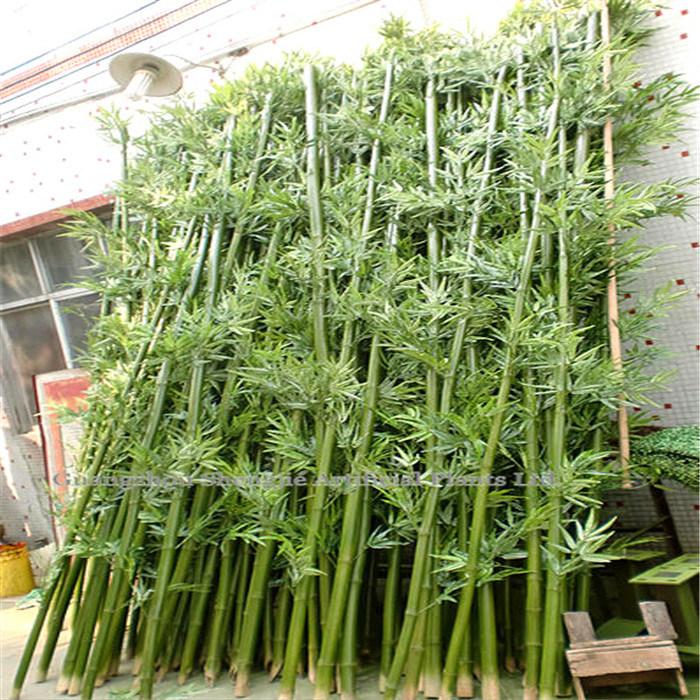 Bambou artificiel avec de vrais tronc photo sur fr made in - Tronc de bambou decoratif ...