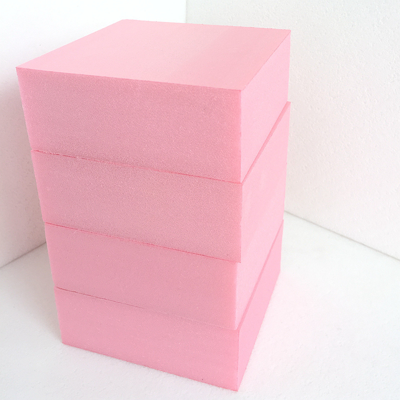 Fuda em poliestireno extrudido (XPS) Placa de espuma de grau B3 150kpa rosa 50mm de espessura