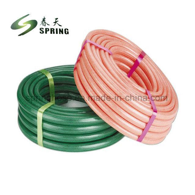 PVC zonder torsie versterkt flexibele tuinslang