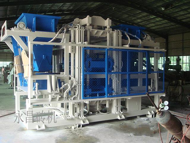 機械価格を作るフルオートの生産ラインブロック
