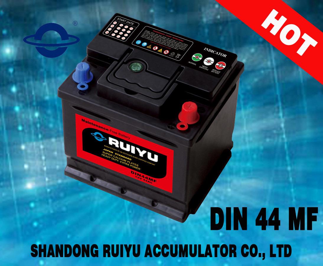 Une meilleure performance ratio prix 12V Auto DIN44MF de la batterie batterie de voiture