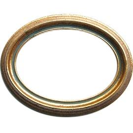 Овальной формы из дерева ручной работы с режимом Picture Frame M-105(G)