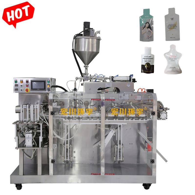 Shampoo/ gel/ Essence Double Bag-data macchina automatica per imballaggio/confezionamento/confezionamento