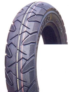 オートバイのタイヤ(3.50-10)