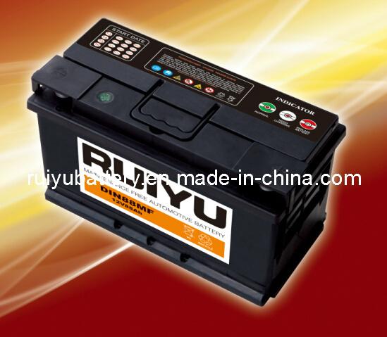 12V 88ah wartungsfreie automatische Batterie