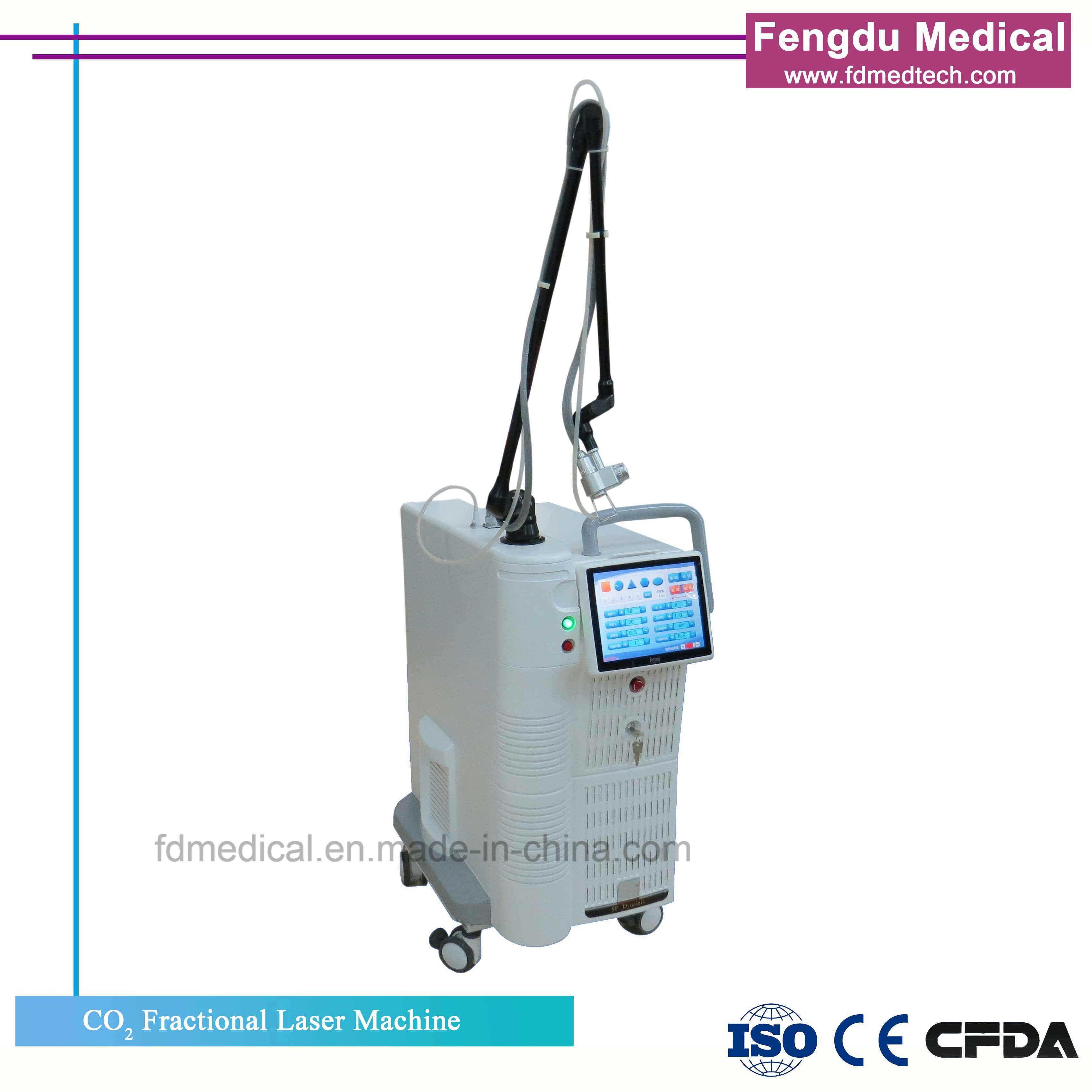 La beauté de CO2 Laser fractionnel médical pour étirer Mark dépose de l'équipement