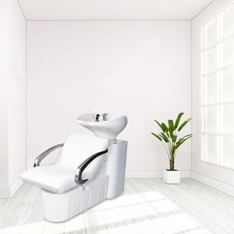 Backwash Hydraulic Shampoo Station Sink en stoel voor Salon