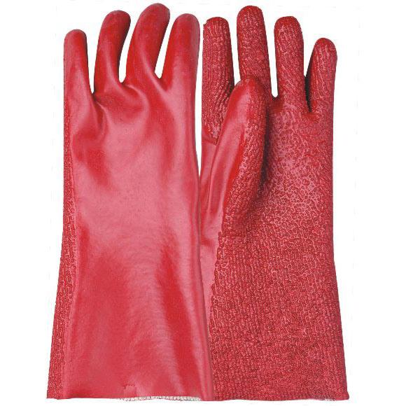 Revestimiento de PVC guantes con CE