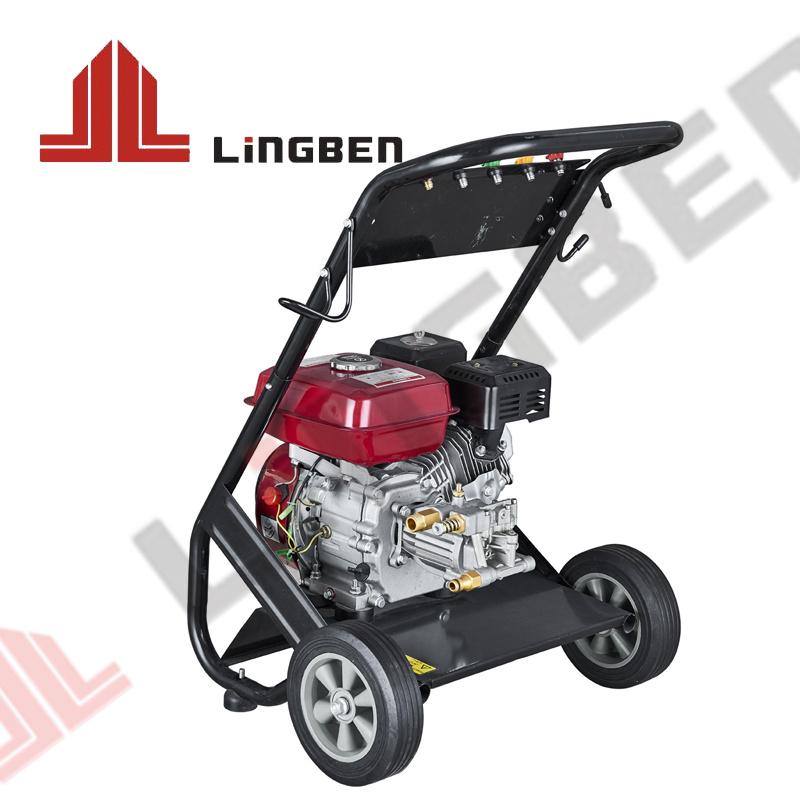 Moteur à essence de 200kg essence Jet d'eau nettoyant voiture lavage de la machine nettoyeur haute pression