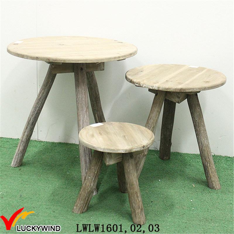 En forma de triángulo de madera elegante mesa de café – En forma de ...