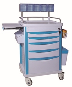Tc-502 Anestesia médicos del Hospital de alta calidad CARRO carro de anestesia Medical crash cart
