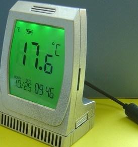 GSM/GPRSの温度データ自動記録器(TG-302)