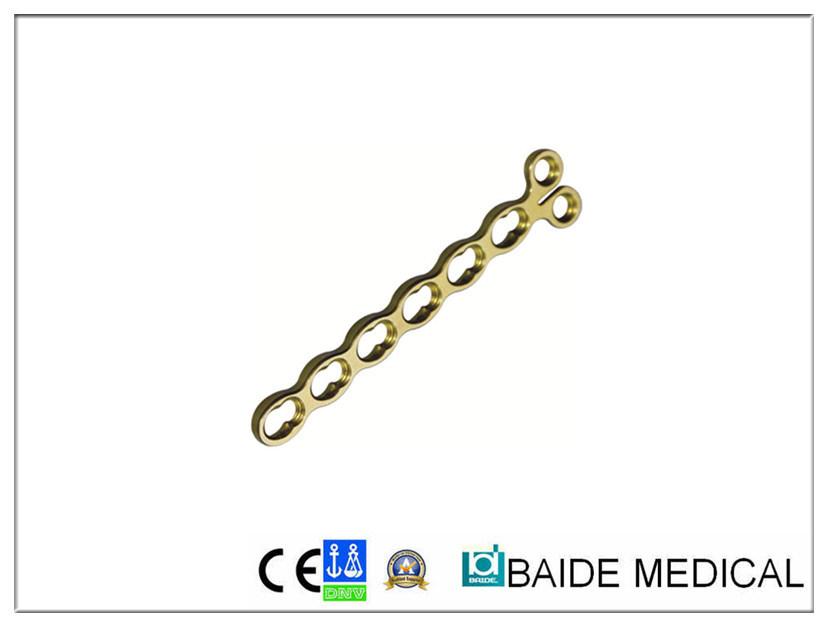 Placa Condilar Compressão de travamento de 2,4mm
