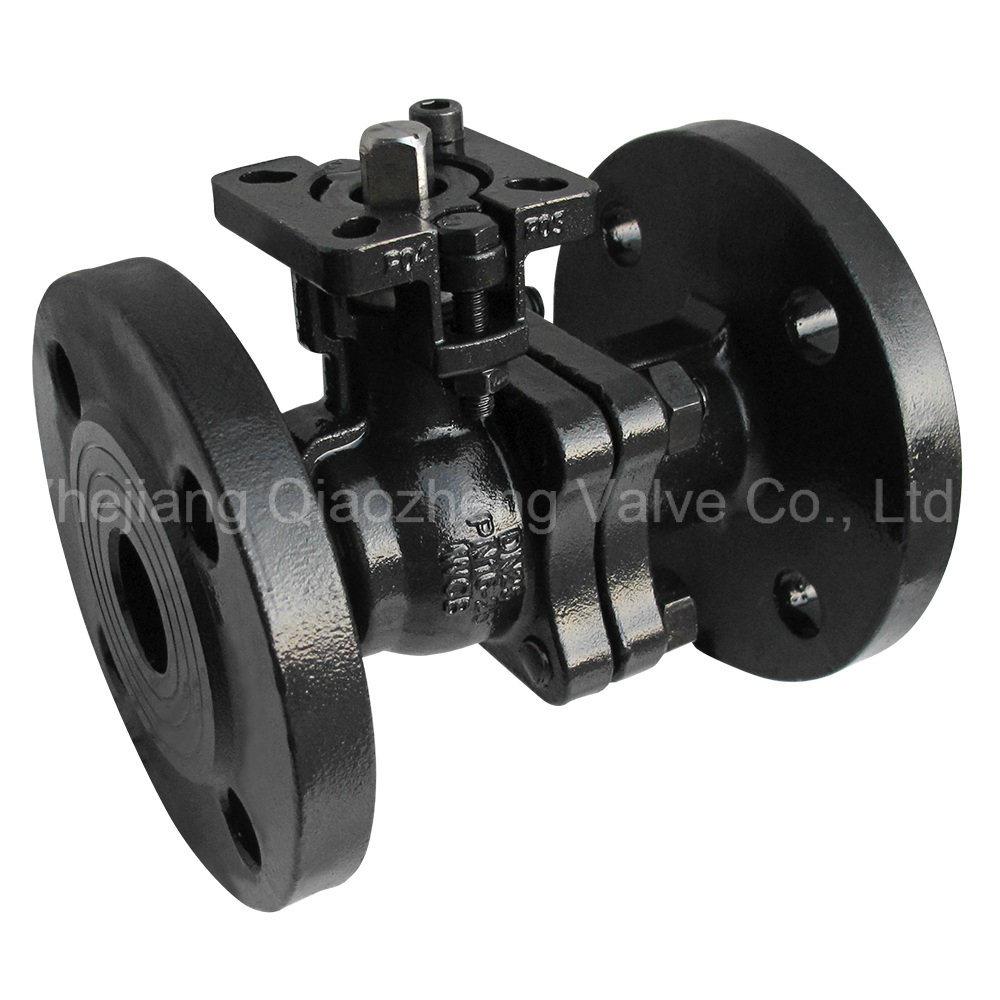 2PC zweiteiliges DIN/JIS/ANSI/GB Wcb/Kohlenstoffstahl flanschte Kugelventil mit direkter Hersteller-Fabrik des Befestigungsflansch-Gq41f