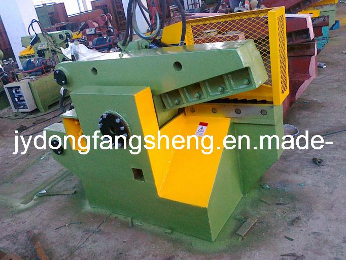 Máquina de corte de metais jacaré com marcação (T43-63)