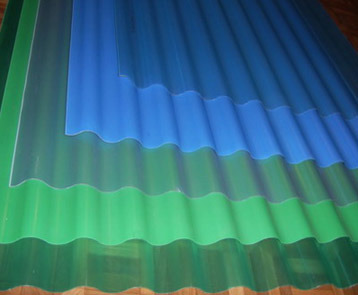 PVC 슬레이트 생산 라인
