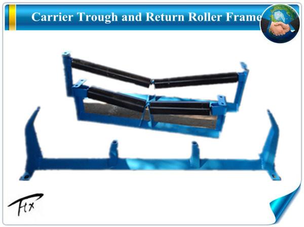 Pedreira a canaleta de aço do Transportador da estrutura do rolete da engrenagem intermediária